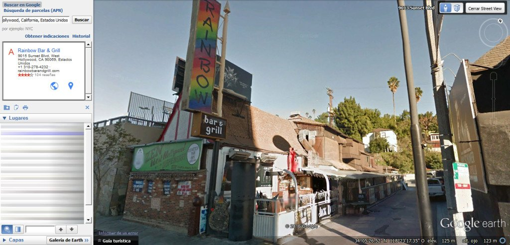 Rainbow Bar & Grill, en West Hollywood acogerá el funeral de Lemmy