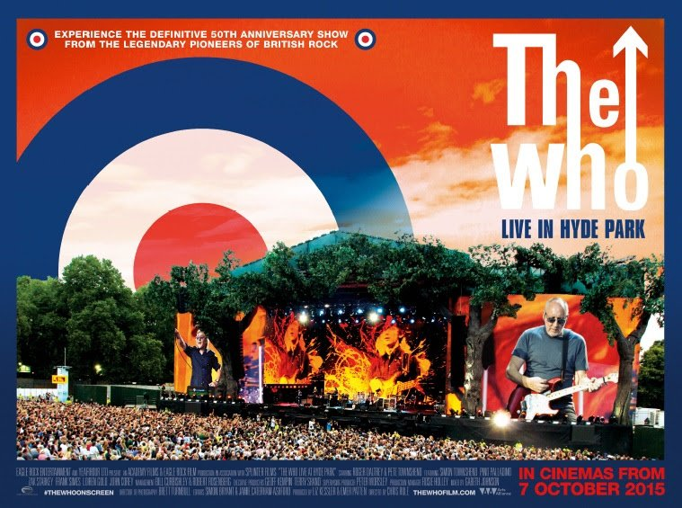 The Who live in Hyde Park 3