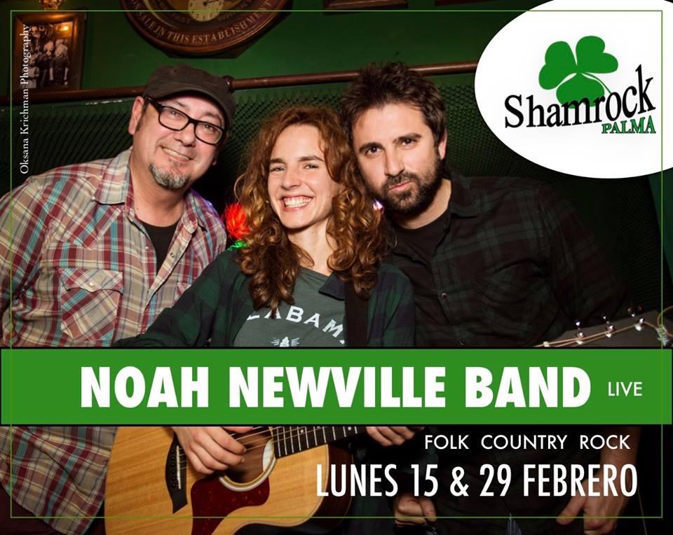 Noah Newville Band en Shamrock Palma